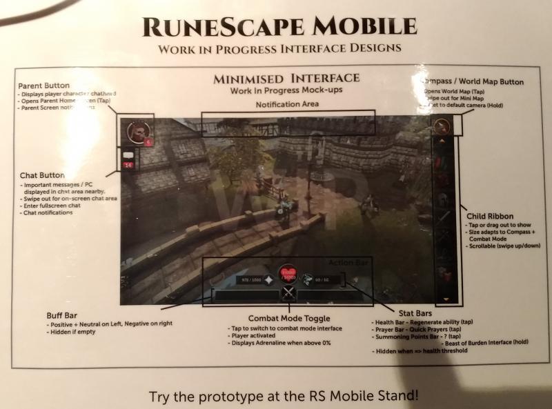 RuneFest - Mobiel inteface-idee