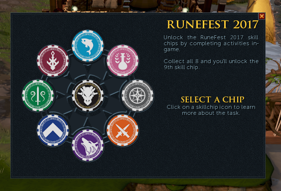 RuneFest - Skiil Chips