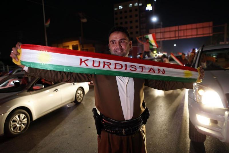 Koerden Irak massaal voor onafhankelijkheid