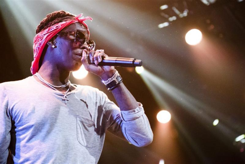 Rapper Young Thug vast om drugsbezit