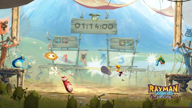 Rayman Legends Definitive Edition Kung Foot