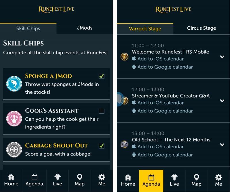 RuneFest - App