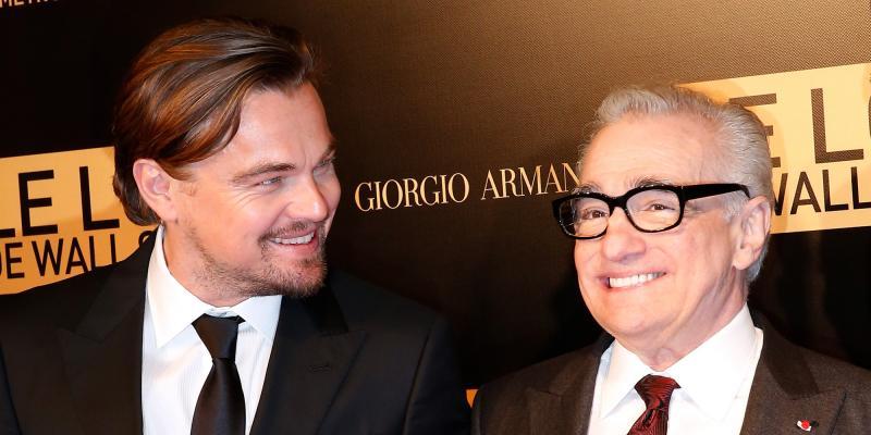 Leonardo DiCaprio en Martin Scorsese