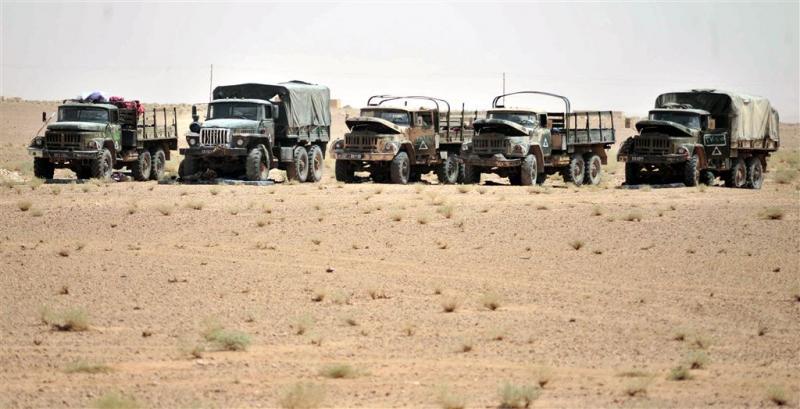 'IS tuigde woestijnleger op in Libië'