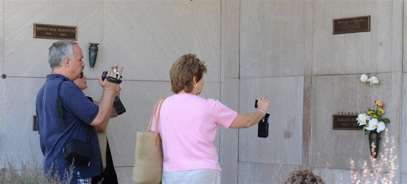 Hugh Hefner krijgt graf naast Marilyn Monroe
