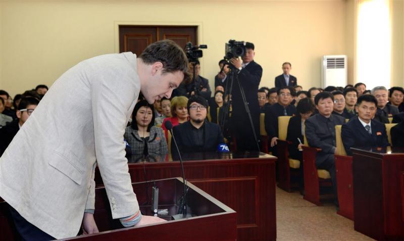 Noord-Korea: Trump misbruikt dood Warmbier