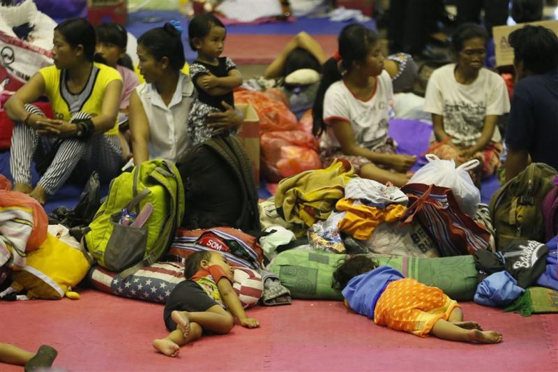 Bali stuurt 'vulkaanvluchtelingen' naar huis