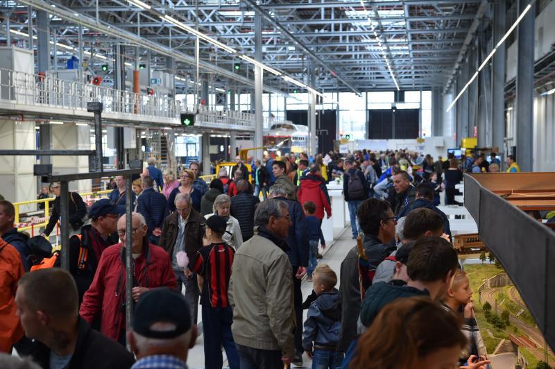 Open dag NS overweldigend succes (Foto: Nederlandse Spoorwegen)