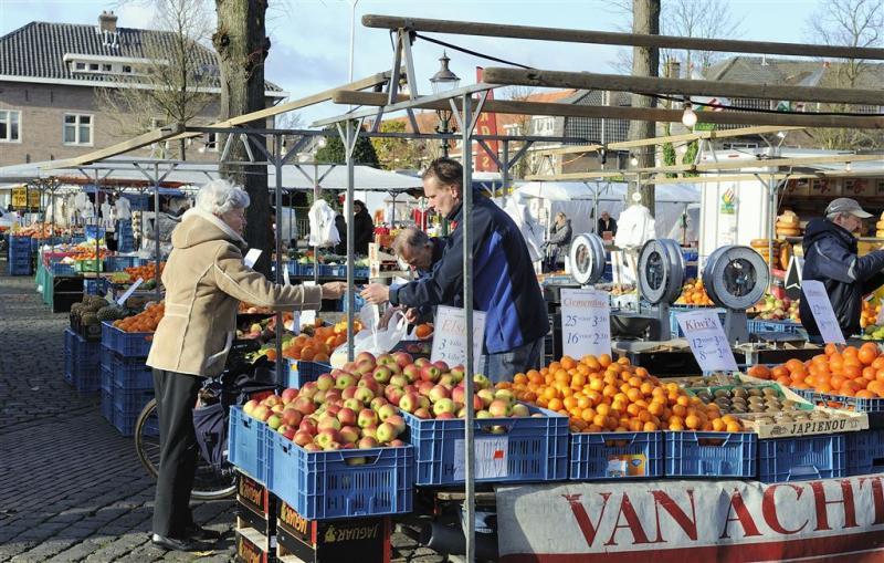 Meer voedselkramen op de markt