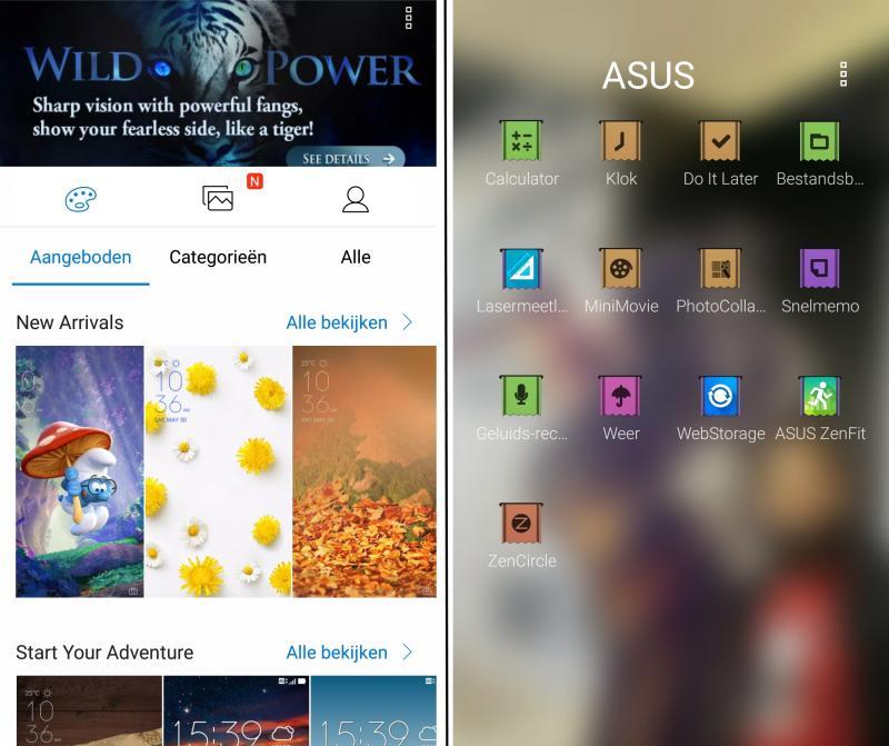 Asus Zenfone 3 - Thema's & Bloatware