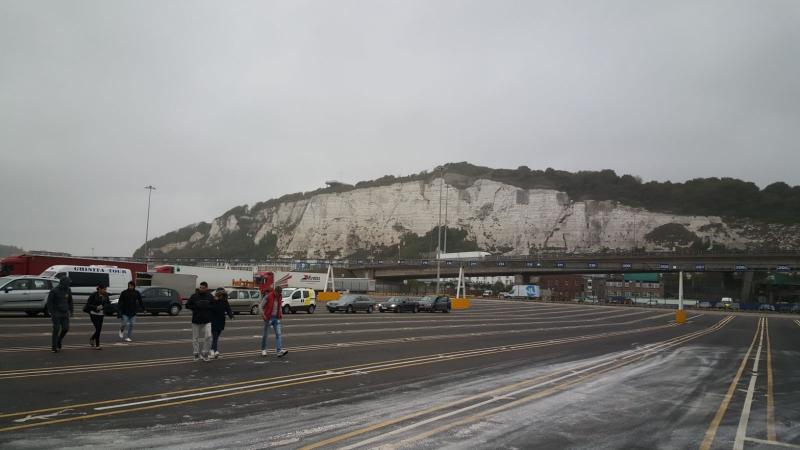 De krijtrotsen in Dover (Foto: Iteejer)
