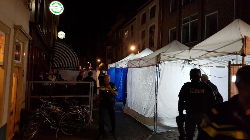 Vlissinger Café overvallen door politie (Foto: Politie.nl)