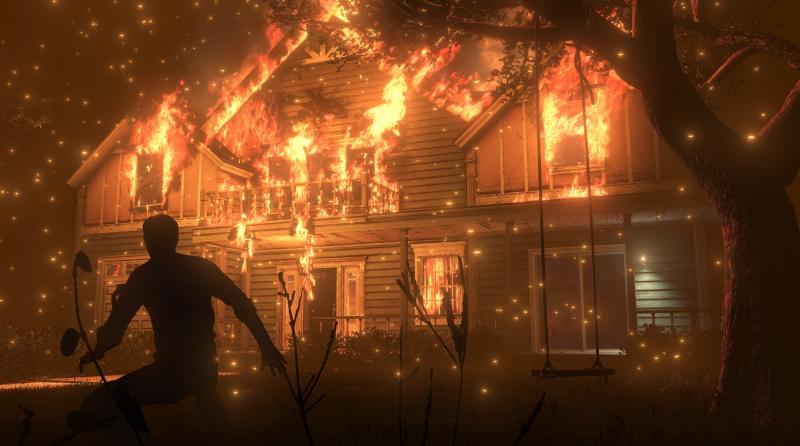 The Evil Within 2 - Burning House (Foto: Bethesda)