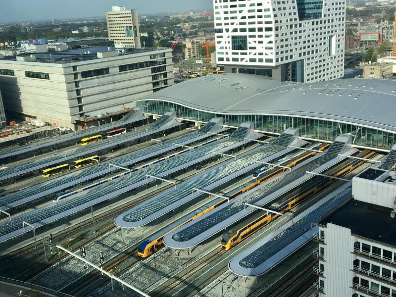 Stroomstoring Utrecht treft ook NS  (Foto: Neder)