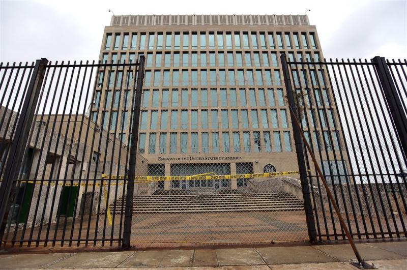 'VS sturen ambassademedewerkers Cuba weg'