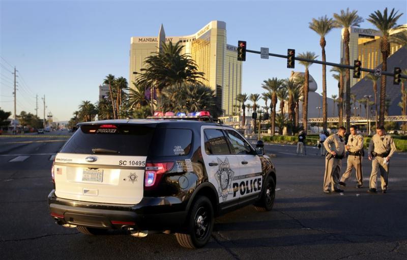 Schutter Vegas schoot 9 minuten lang
