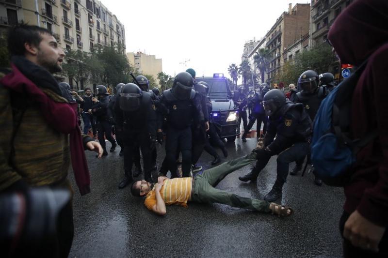 Madrid biedt excuses aan voor gebruikt geweld