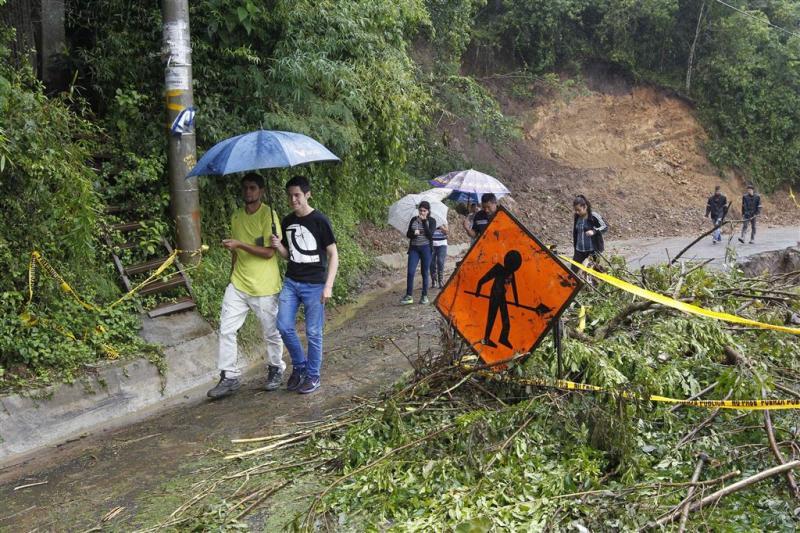 Doden in Midden-Amerika door storm Nate