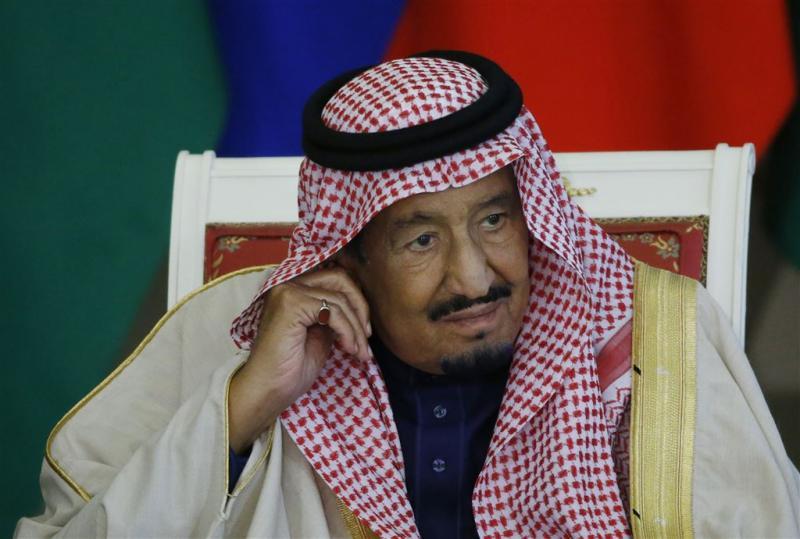 Gewapende man doodt wachters Saudische koning