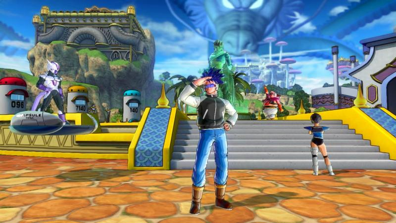 Dragon Ball Xenoverse 2 - Conton City - Switch (Foto: Bandai Namco)