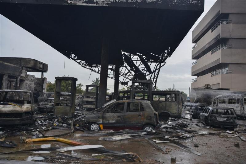 Doden door explosie tankstation Ghana