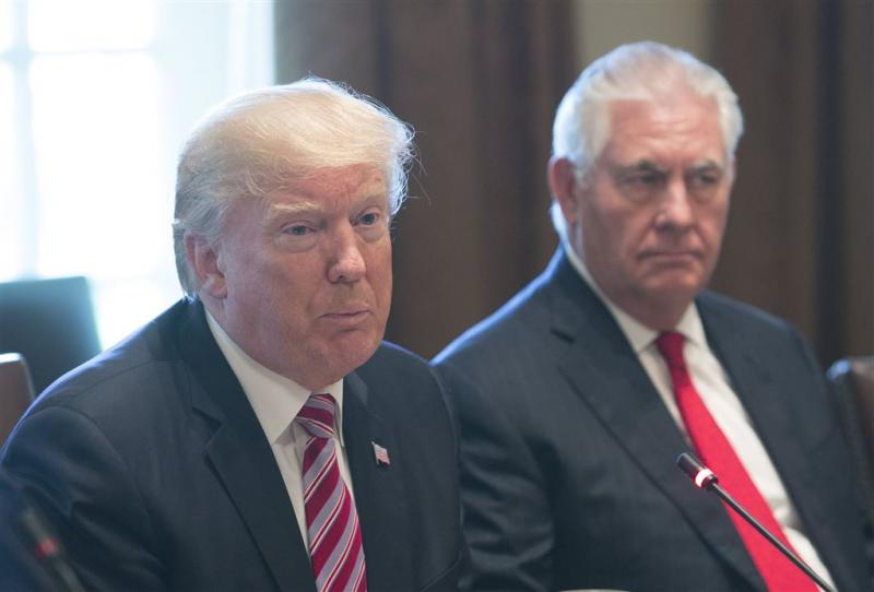 Trump vindt dat Tillerson harder moet zijn