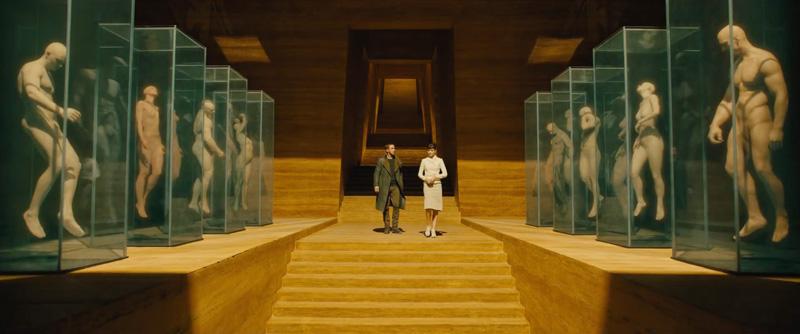 Blade Runner 2049 hallway