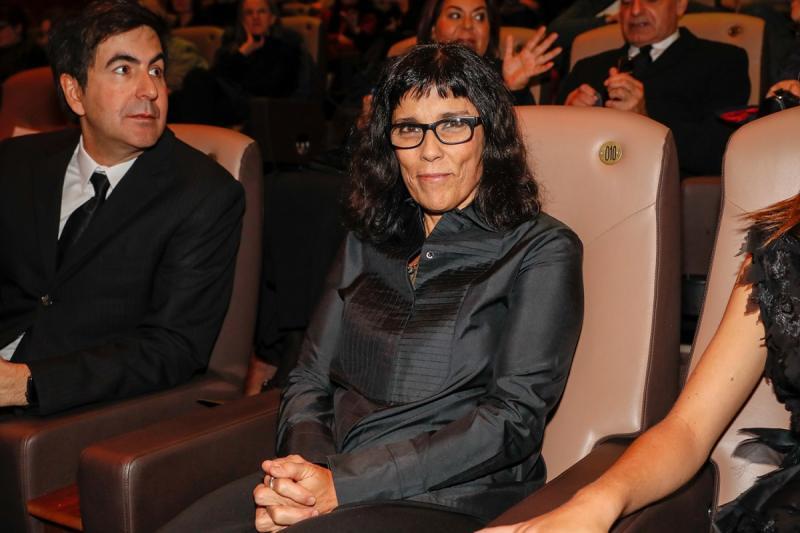 Daniela Thomas tijdens Berlinale Filmfestival