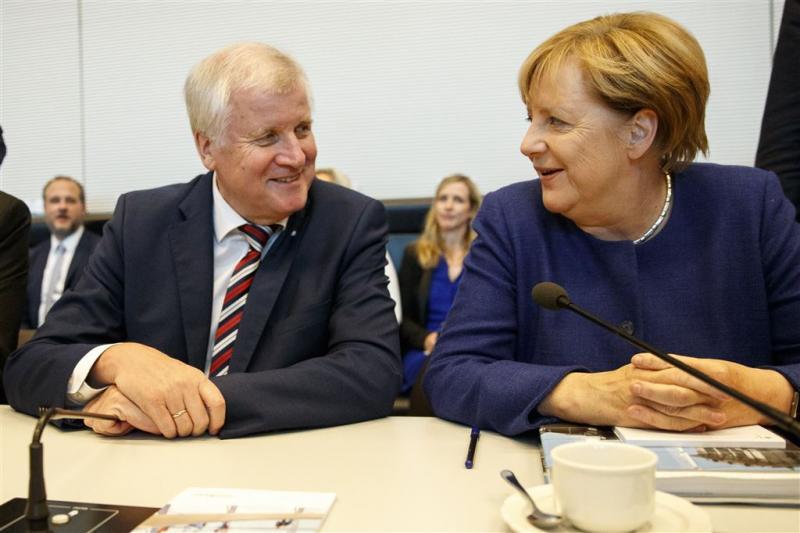 CSU en CDU: maximaal 200.000 vluchtelingen