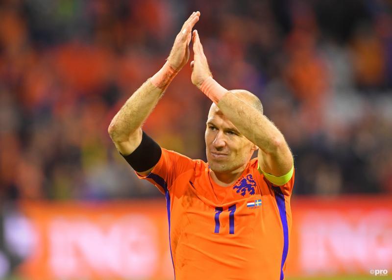Robben neemt afscheid bij Oranje (Foto: Pro Shots/Action Images)