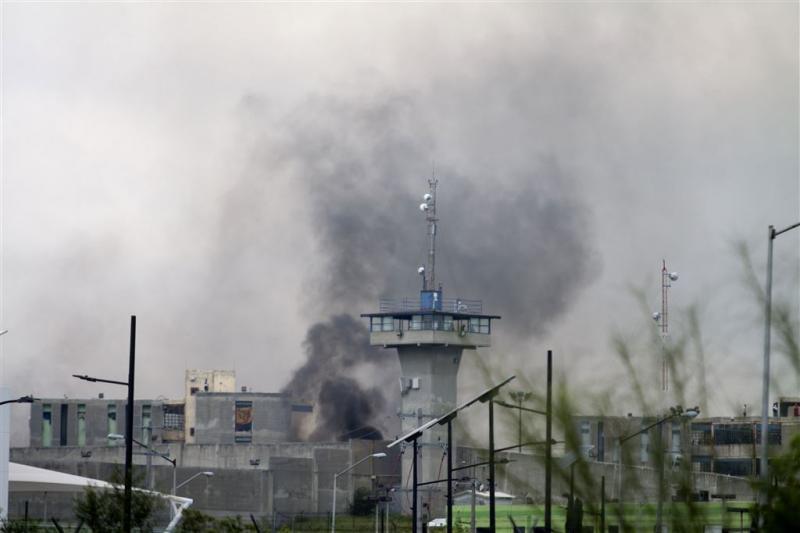Zeker dertien doden bij gevangenisrel Mexico