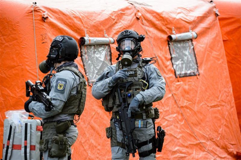 Duitse oefening biologische terreuraanval