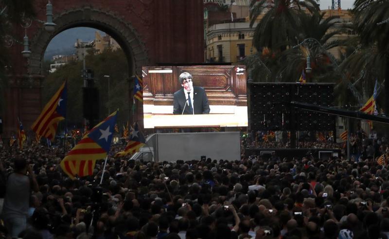 'Toespraak Puigdemont is een truc'