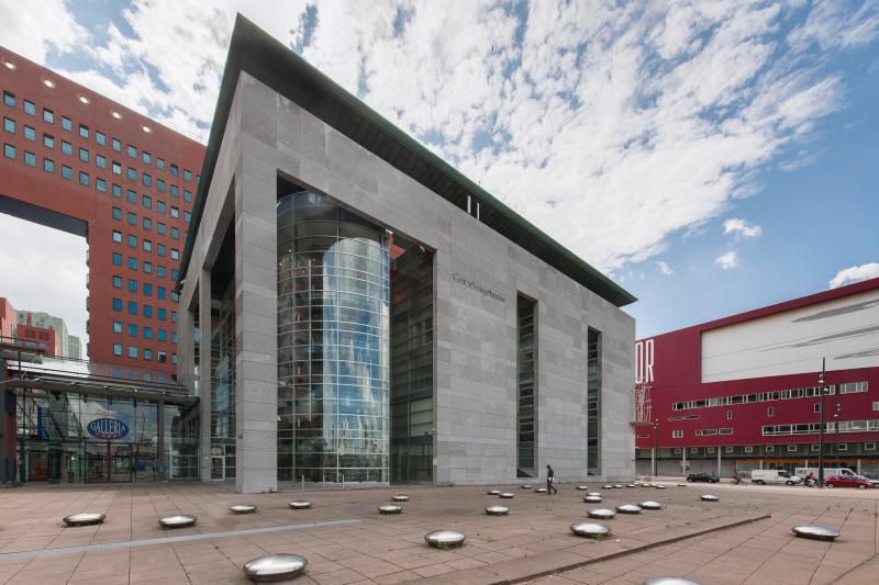 Jihadverdachte Laura H. voor de rechter (Foto: Rechtbank Rotterdam)