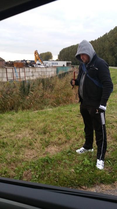 Wijkagent verkleedt zich als inbreker (Foto: Politie.nl)