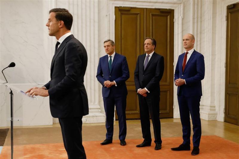 Posten kabinet al verdeeld over partijen