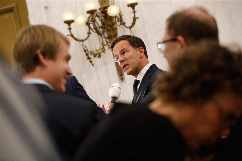 Rutte: kabinet over twee weken klaar