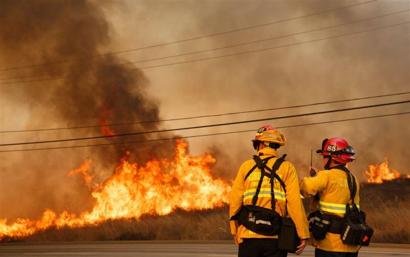Brandweer boekt enig succes in Californië