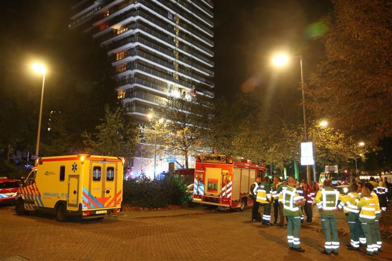 Dode door brand in flat Rotterdam