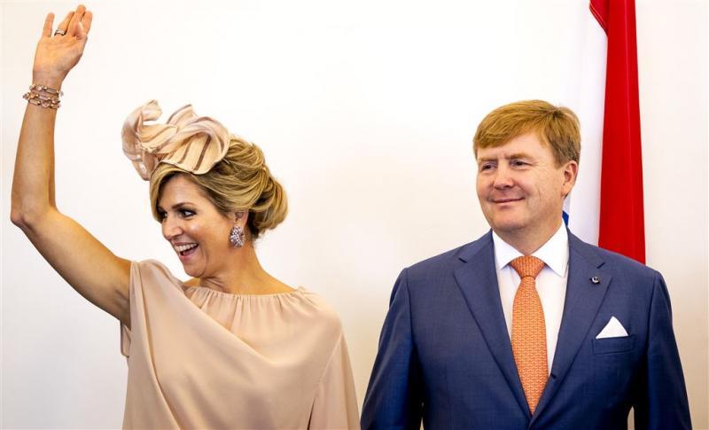 Koning en Máxima lunchen met uitblinkers