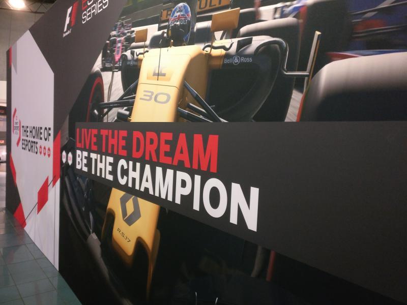 F1 2017 eSport in Gfinity
