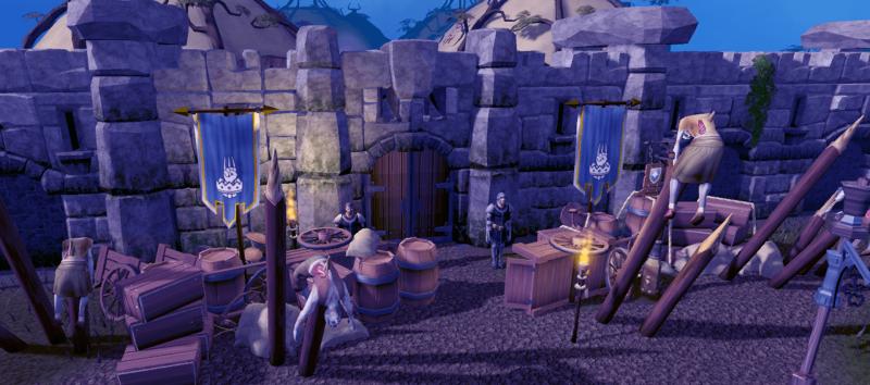 RuneScape Dimension of the Damned - Barricades