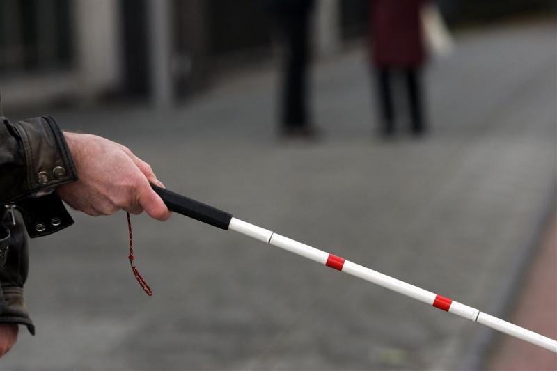 Verkeerscampagne rond witte stok blinden