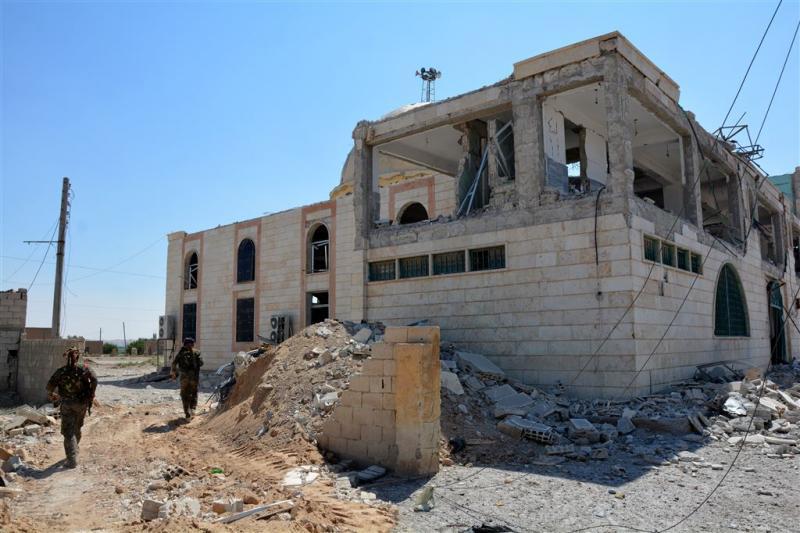 'Raqqa staat op punt te vallen'