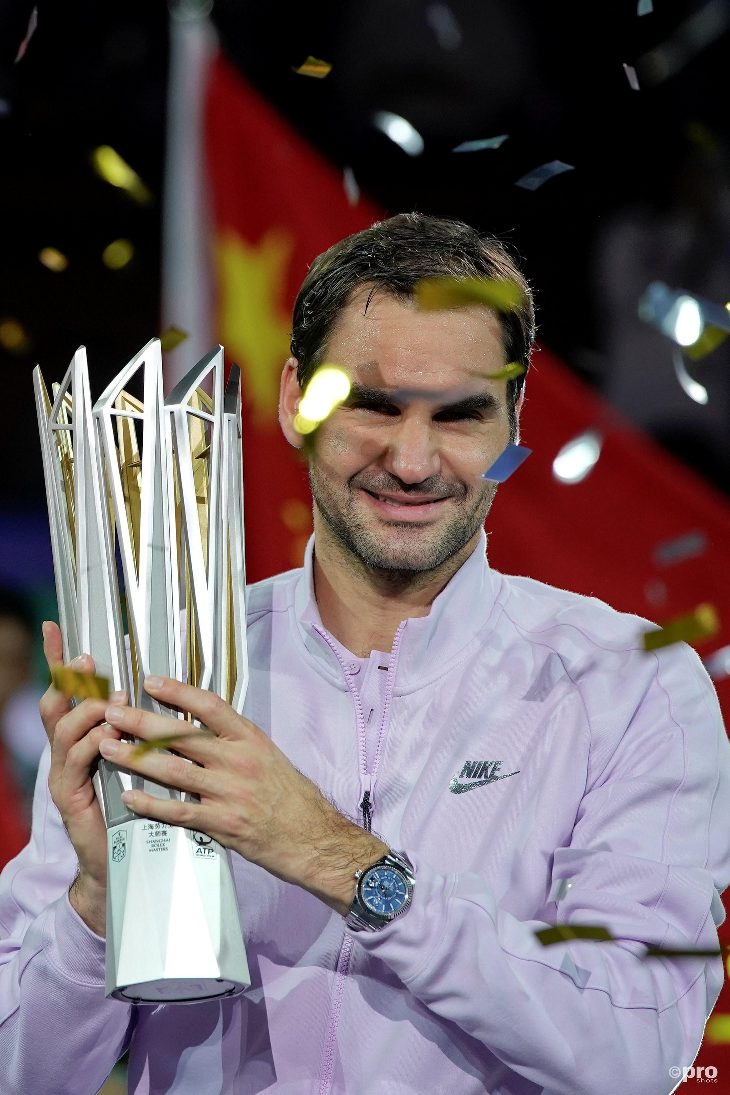 Federer opnieuw te sterk voor Nadal. (PRO SHOTS/Action Images)