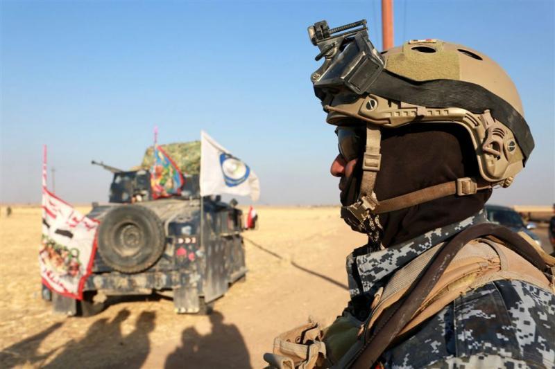 Iraakse legereenheden naderen Kirkuk