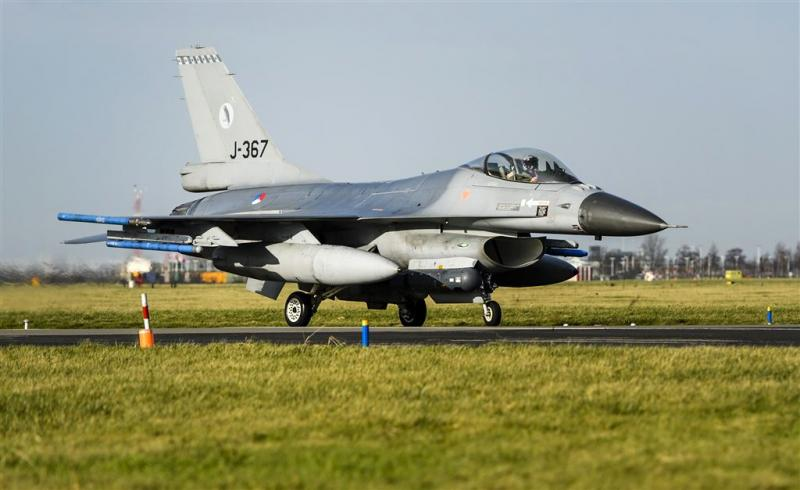 Overtollige F-16's leveren 76 miljoen op