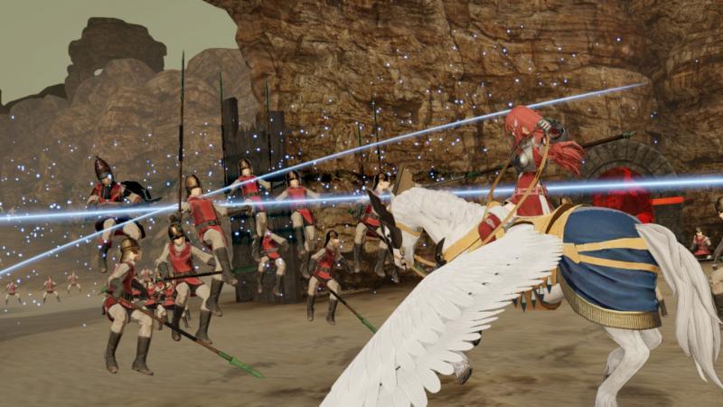 Fire Emblem Warriors Pegasus