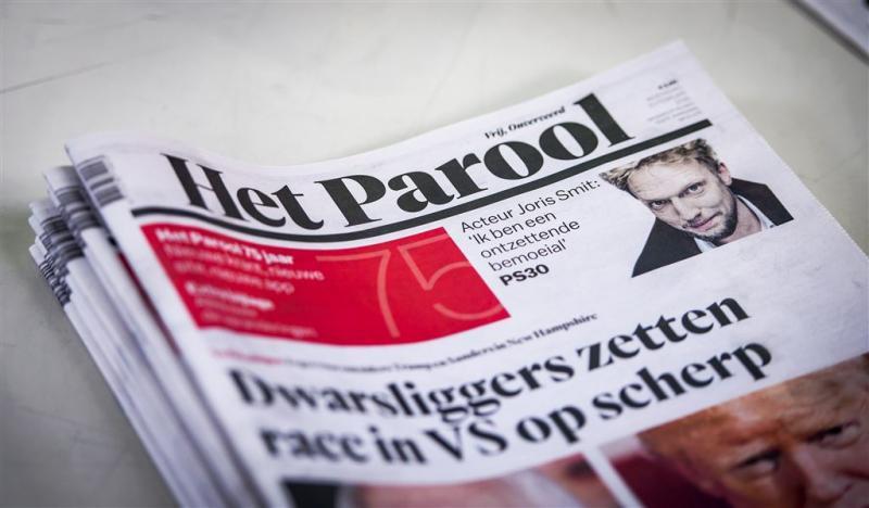 Parooljournalist Vugts ondergedoken