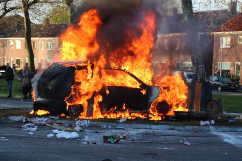 Piek in aantal autobranden